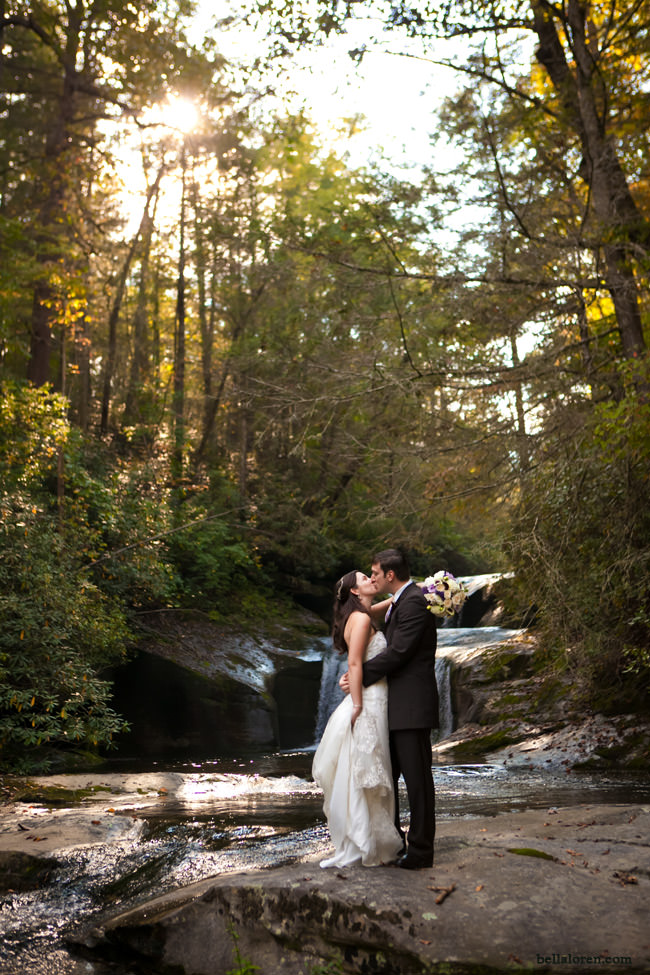 Plan a romantic Lake Lure wedding.