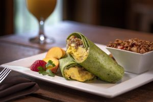 Breakfast at The Esmeralda Inn & Restaurant.