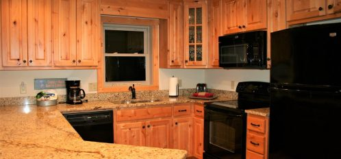 Chimney Rock Cabin Kitchen 2