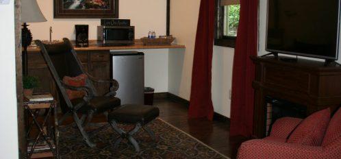 Honeymoon Cottage Living Room