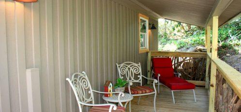 Honeymoon Cottage Porch