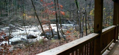 Chimney Rock River Cabin View 2