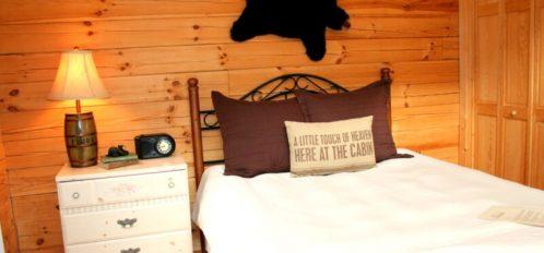Rocky Broad River Cabin Bedroom 1