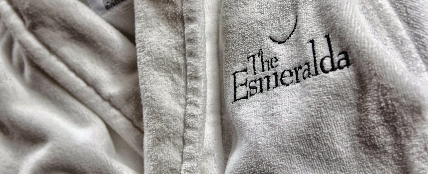The Esmeralda Inn Spa Robe